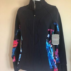 Athleta Navy Super Impose Hope Jacket NWT!
